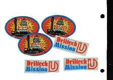 6 Nice Driltech Mission Oilfield Stickers # 146
