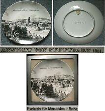 MERCEDES-BENZ Sammelteller Porzellan Ansicht STUTTGART 1641 Daimler-Benz Sammler