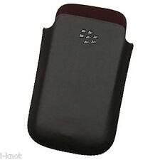 Original Blackberry Cuero Bolsillo Bolsa Funda Para 9300 Curve 9780,9700 Bold Blak