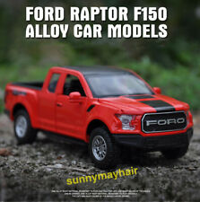 1/32 Scale Red Alloy Ford Raptor F-150 Car Model Vehicles With Light & Sound