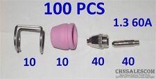 100 Pcs 60a Sg 55 High Frequency Air Plasma Cutter Pilot Arc Torch Consumables