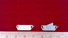2 Pairs of Vent Locks for Double Hung Windows (white or beige)