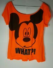 Disney Mickey Mouse Shirt Size Large Kids