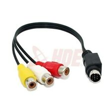 S-Video Male to RCA Female TV Video Converter Adapter Cable