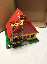 Lego Custom Yellow house with red roof repair MOC various used lego bricks
