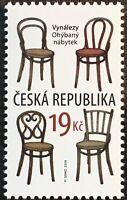 Tschechische Republik 2018 Nr. 980 Bugholzmöbel Vollholzstühle Michael Thonet