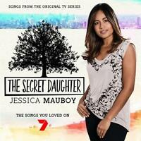 JESSICA MAUBOY + Personally Signed A5 Fan Card The Secret Daughter CD NEW
