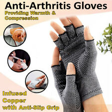 Pair Anti Arthritis Gloves Compression Hand Support Arthritis Finger Pain Relief