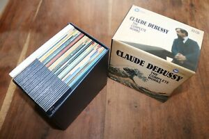 CLAUDE DEBUSSY -The Complete Works-WARNER CLASSICS Limited Edition 33 CD's