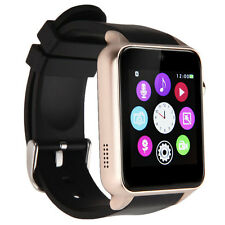 GT88 Reloj inteligente Bluetooth IP57 Monitor de ritmo cardíaco Cámara para Android iOS Dorado