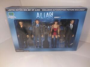 Alias Series 1 Action Figures SEG Toys Limited Edition Box