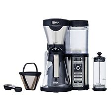 Ninja Coffee Bar with Glass Carafe and Auto-IQ 1 Touch Intelligence | CF080W
