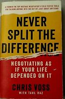 Never Split The Difference by Chriss Voss Pre-Owned Book Good Condition