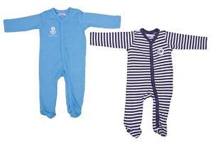 Baby Jungen Strampler Einteiler 2-er Pack SET Schlafanzug NEU Größe 50/56