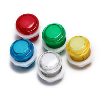 24mm led illuminated 5v push buttons built-in switch for arcade joystick RAHCUK