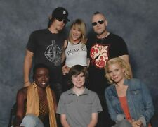 Sara Jean Underwood & Walking Dead Cast 8x10 Photo Norman Reedus Michael Rooker