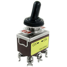 AC 250V 15A on/on 2 Position DPDT Toggle Switch with Waterproof Boot