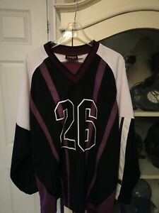 Vintage CMP team sport Anaheim Mighty Ducks 2000  26 Pahlsson Jersey Large RARE