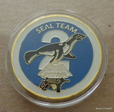 SEAL  Team  24K GOLD  PLATED  Challenge  COIN    #1s