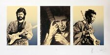 "Ronnie (Ron) Wood ""Keith , Keith & Jimi 1991"" Original Screenprint S/N"
