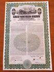 Great Northern Railway Railroad Bond Stock Certificate