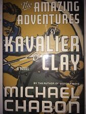 THE AMAZING ADVENTURES OF KAVALIER & CLAY BY MICHAEL CHABON *SIGNED*FIRST ED*