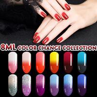 Lavender Violets 8ml Thermal Color Changing Soak Off UV LED Gel Nail Polish