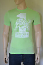 NUOVO Abercrombie & Fitch beckhorn Trail Verde Vintage 1957 TIGRI TEE T-SHIRT S