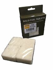 8 HEXAMINE FUEL TABLETS EMERGENCY SURVIVAL MILITARY ARMY CADETS BRAND NEW