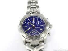 TAG Heuer Link Chronograph CT1110.BA0550 Blue Dial CT1110-0 Bourne Identity
