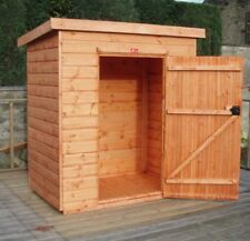 Pinelap Garden Storage Shed Wooden Tool Shed 5Ft x 3FT Fully T&G