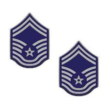 USAF Air Force Metal Chevron Senior Master Sergeant