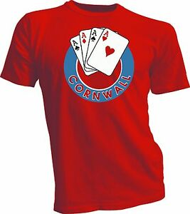 CORNWALL ACES DEFUNCT AHL HOCKEY VINTAGE STYLE NEW on Canada RED Screen Printed