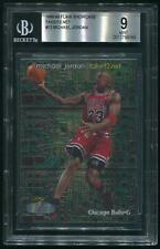 1998/99 Flair Showcase #13 Michael Jordan Takeit2.net #0114/1000 BGS 9 (MINT)