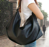 hot sale womens leather black shoulder bags large hand bag fashion shopping tote