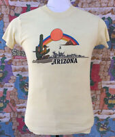 70s/80s Vtg Arizona State Paper Thin Tee T-Shirt 50/50 Vintage EUC!