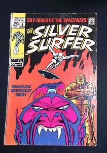 Silver Surfer (Vol.1) #6 Silver Age Marvel Comics VG