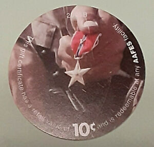 7E10  AAFES Pog  2005B U.S. ARMY Money  About  Uncirculation Condition