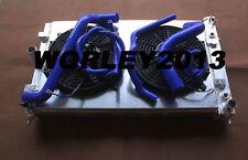 Aluminum radiator + shroud + fan + hose for  Commodore VZ LS1 LS2 SS V8 04-06