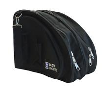 Deluxe Skate Bag Black heavy durable hockey ice Noir
