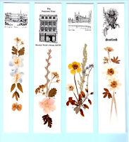Bookmark Buckingham Palace London Bath Cambridge Scotland Dried Pressed Flower