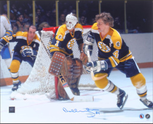 Bobby Orr Signed Vintage action 16x20 Photo Boston Bruins GREAT NORTH GNR COA