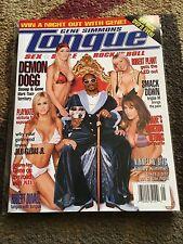 Gene Simmons TONGUE Magazine Summer 2003 Snoop Dogg Cover
