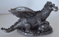 Vintage 1987 Mythology Dragon Myrtle Pewter Ricker Coa 415/3500