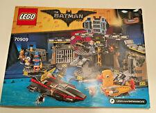 LEGO 70909 The Batman Movie - BATCAVE BREAK-IN -  INSTRUCTION MANUAL ONLY