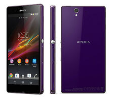 PURPLE Sony Ericssion Xperia Z C6603 4G LTE Radio Unlocked Mobile Phone 16GB