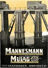 Mannesmann Mulag Lastwagen Omnibusse Scheibler Platte Braunbeck Motor A2 143