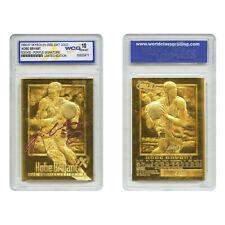 1996-97 KOBE BRYANT EX-2000 Credentials 23K GOLD ROOKIE (Purple) *GEM-MINT 10*
