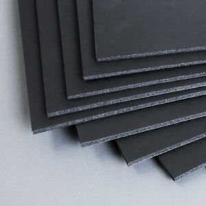 A1 Black 5mm Foamboard - Pack of 10