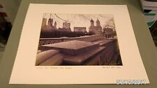 2412M N.Y. Central Park REAL Photograph Bow Bridge 11x14 Matted to 16x20 SIGNED